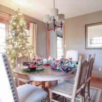 Two Christmas Tablescape Ideas